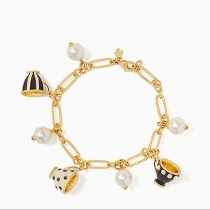 Kate Spade Alice in wonderland charm bracelet